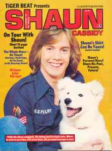 I wonder if the winner of Shaun's shirt still has it or if she sold it at a garage sale to get the money for a Duran Duran pin.