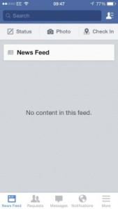 Blank feed