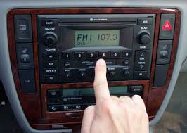 car stereo dial